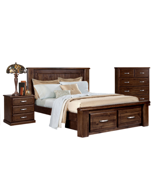 Bushland 4 Piece Bedroom Suite