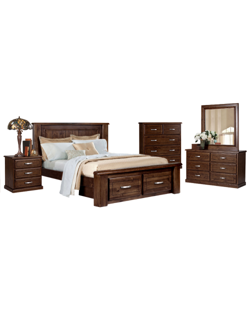 Bushland 5 Piece Bedroom Suite