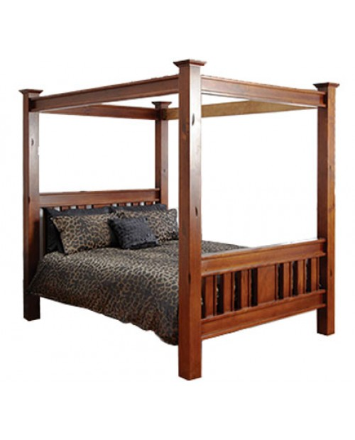 Clearance Spring 4 Poster Bed - Queens Size