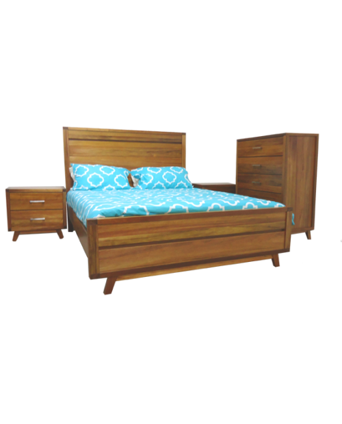 Bedroom Furniture Clearance - Oasis Bedroom Suite - New
