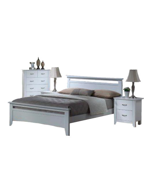 Furniture Clearance - Tayla Bedroom Suite - Queen Size - ONE ONLY