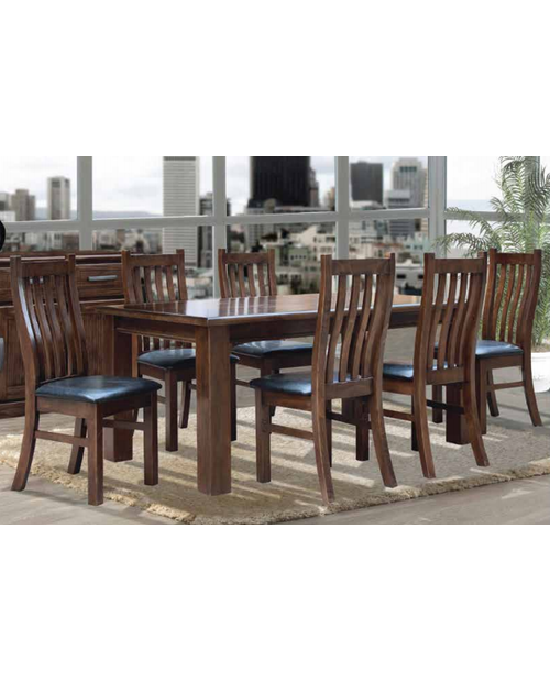 Furniture Clearance - Cargo 7pce Rustic Dining Suite