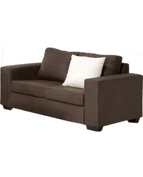 Clearance Bonza 2 seater choc lounge