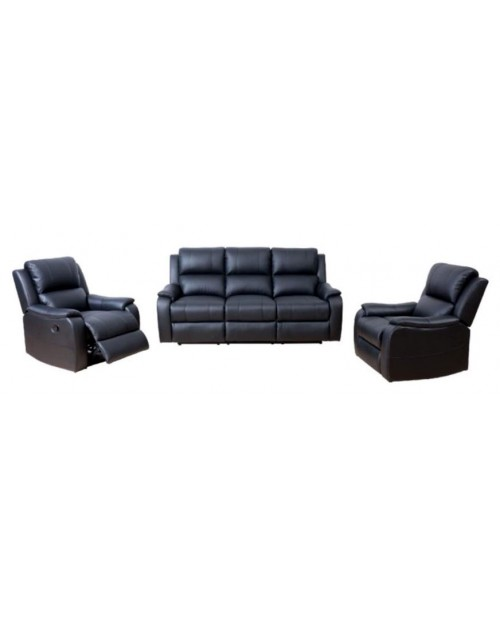 Bronte Leather Recliner Lounge Suite