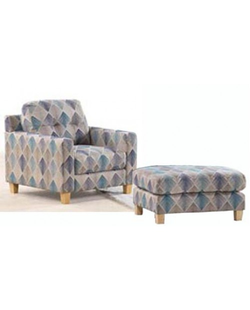 Furniture Clearance - Byron Armchair & Ottoman