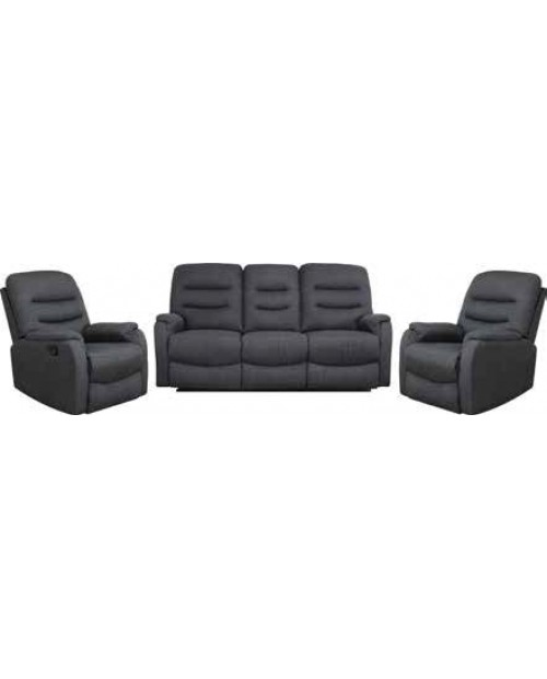 Lily 3 Piece Recliner Lounge Suite