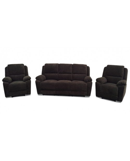 Furniture Clearance - Rialto 3 Pce Recliner Lounge Suite.