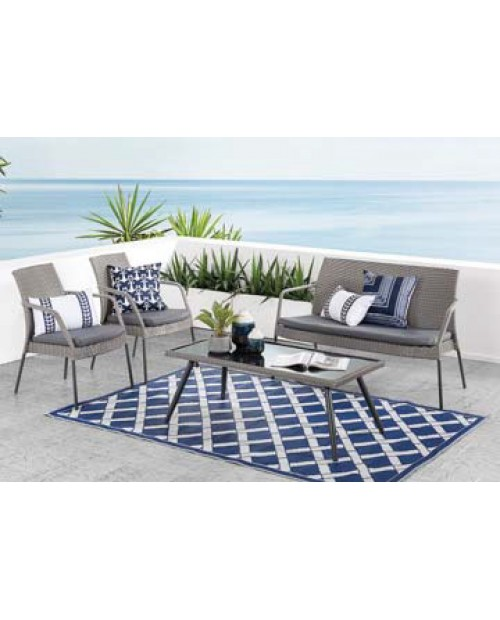 4 Piece Outdoor Lounge Setting