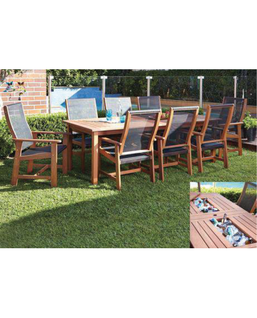 Furniture Clearance - Torquay Patio Setting Nine Piece