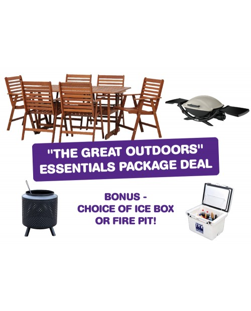 Great Outdoors Essentials Package Deal