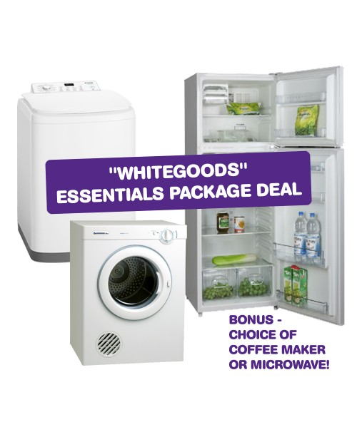 **JULY BONUS** $200 Gift Card with Package Deal - Whitegoods Essentials
