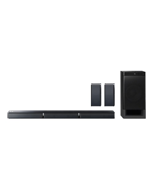 SoundBar Cinema System with Rear Speakers