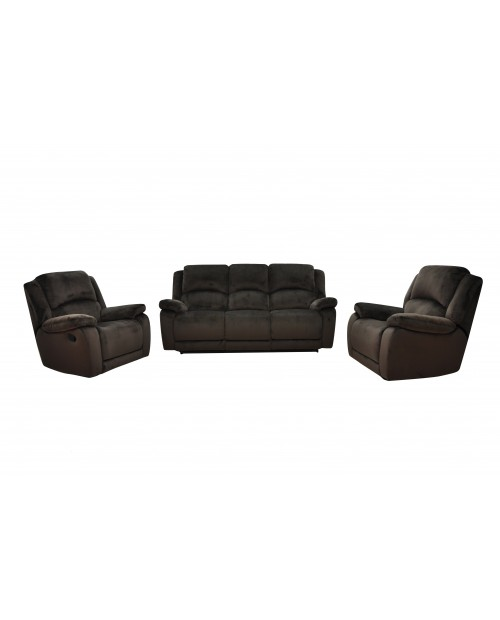 Furniture Clearance - Florence 3 Pce Recliner Suite
