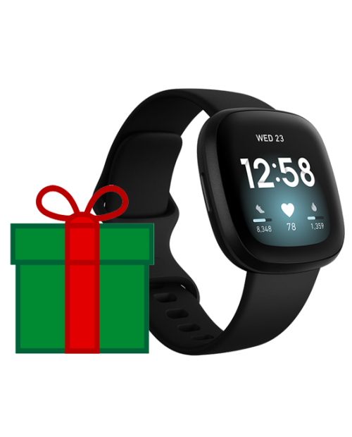 *New for Christmas* Fitbit Versa 3 Smart Watch