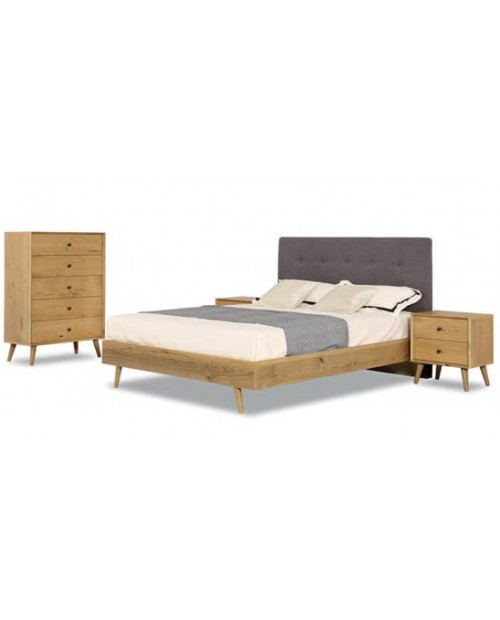 Queen Bedroom Suite - Whistler American Oak