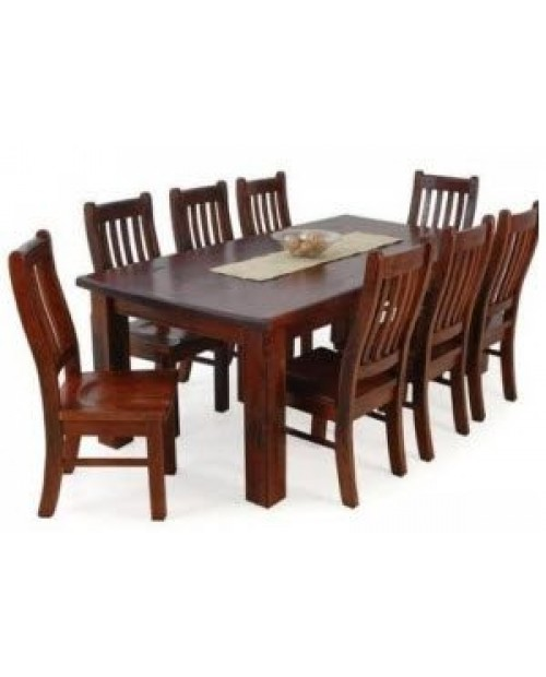 Furniture Clearance - Cargo 9pce Rustic Dining Suite