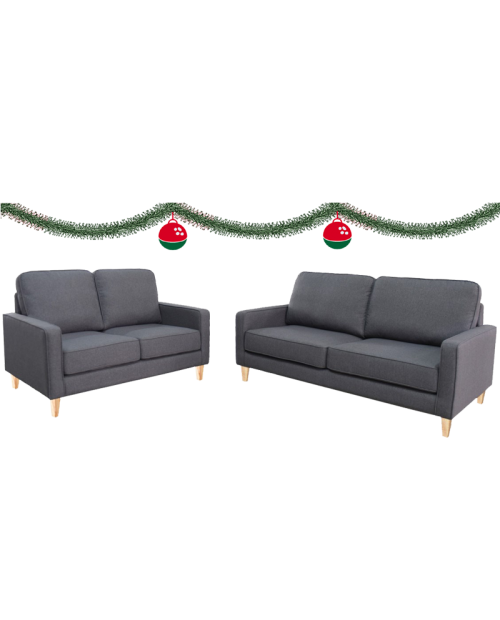 *Christmas Special* Sofa Pair - Toby 2.5 + 2 Seat