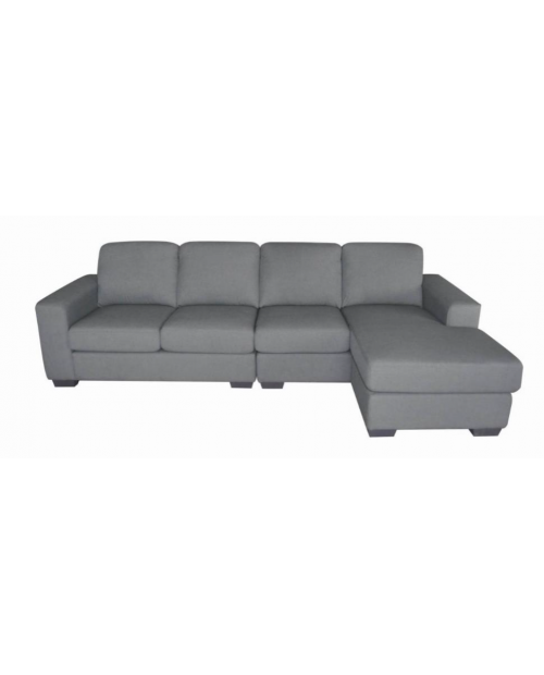 Furniture Clearance - Camille 4 Seat Lounge with Reversible Chaise