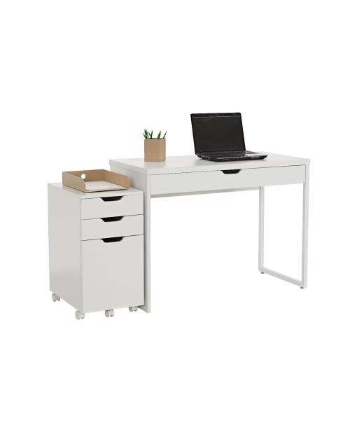 Desk with Modular Drawers