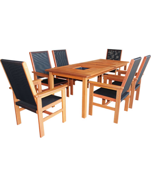Clearance - Torquay Patio Setting - 5 PIECE