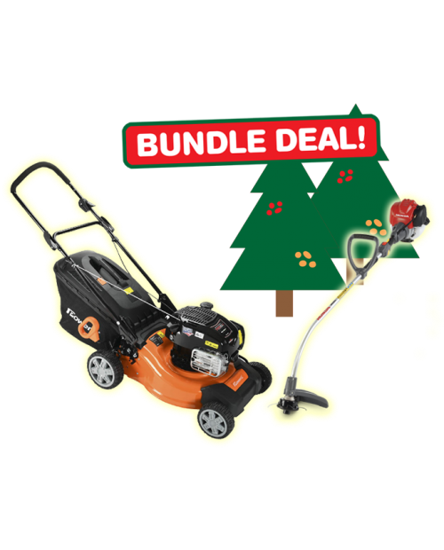 ** CHRISTMAS SPECIAL ** Lawn Mower and Line Trimmer Bundle